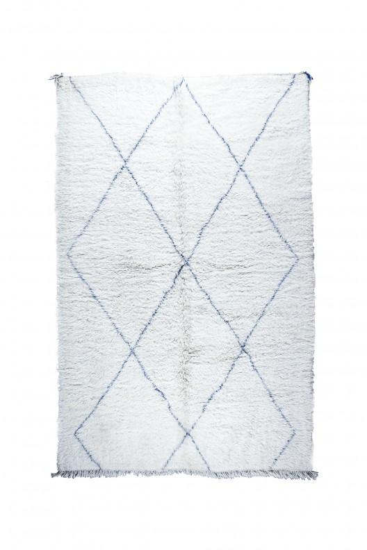 Tappeto Berbero Beni Ourain - 305X210 cm - 120.1X82.7 in