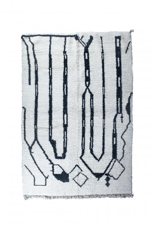 Tappeto Berbero Beni Ourain - 290X210 cm - 114,17X82,68 in
