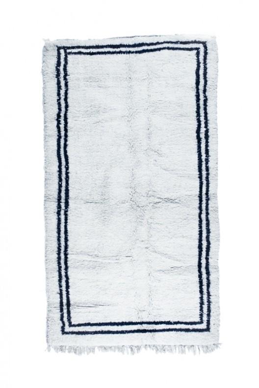 Tappeto Berbero Beni Ourain - 260x150 cm - 102.4X59.1 in