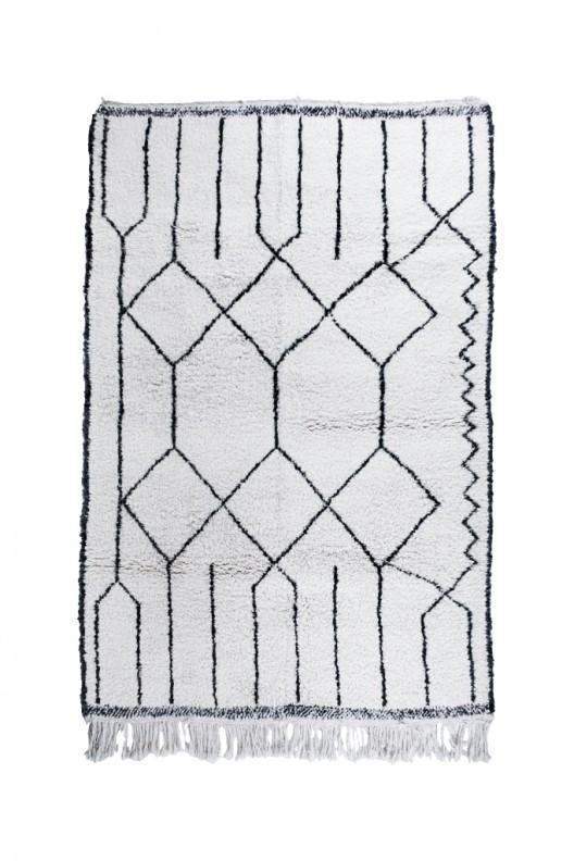 Tappeto Berbero Beni Ourain - 310X210 cm - 122X82.7 in