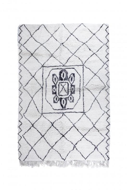 Tappeto Berbero Beni Ourain - 300X210 cm - 118,11X82.7 in