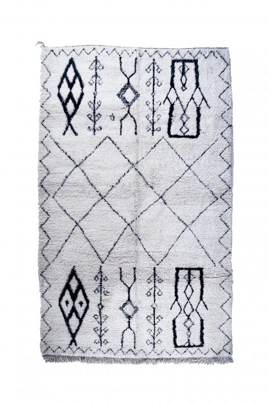 Tappeto Berbero Beni Ourain - 340X220 cm - 133.9X86.6 in