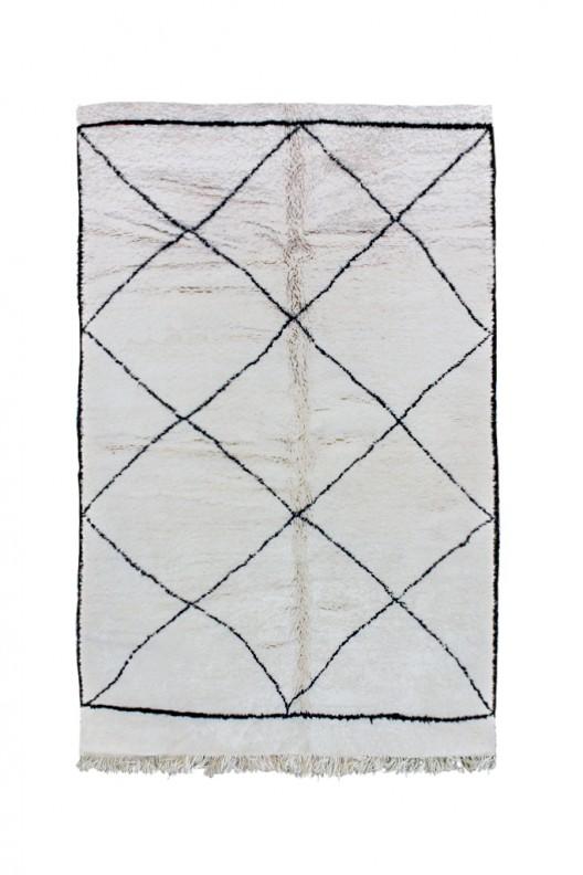 Tappeto Berbero Beni Ourain - 300x202 cm - 118.1X79.5 in
