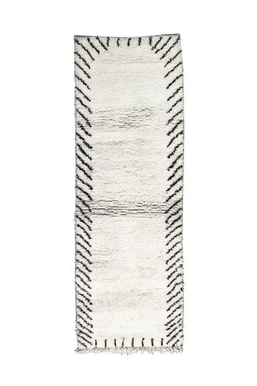 Tappeto Berbero Beni Ourain - 290x100 cm - 114.2X39.4 in