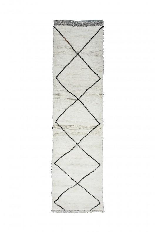 Tappeto Berbero Beni Ourain - 420x100 cm - 165.4X39.4 in