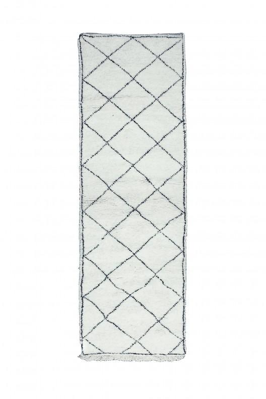 Tappeto Berbero Beni Ourain - 290x90 cm - 114.2X35.4 in