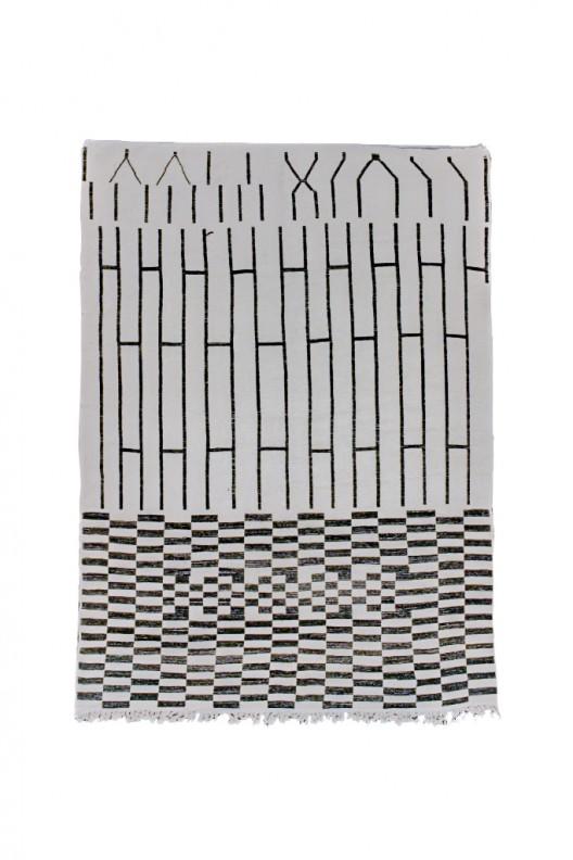 Tappeto Berbero Beni Ourain - 310x230 cm - 122X90.6 in
