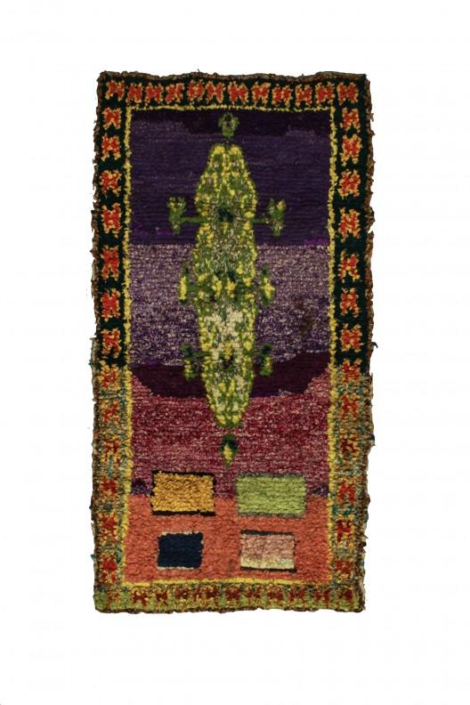 Tappeto Berbero Boucherouite - 180x95 cm - 70.9X37.4 in