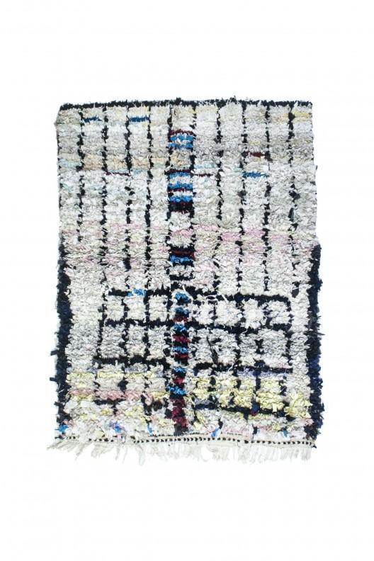 Tappeto Berbero Boucherouite - 180x140 cm - 70.9X56.7 in
