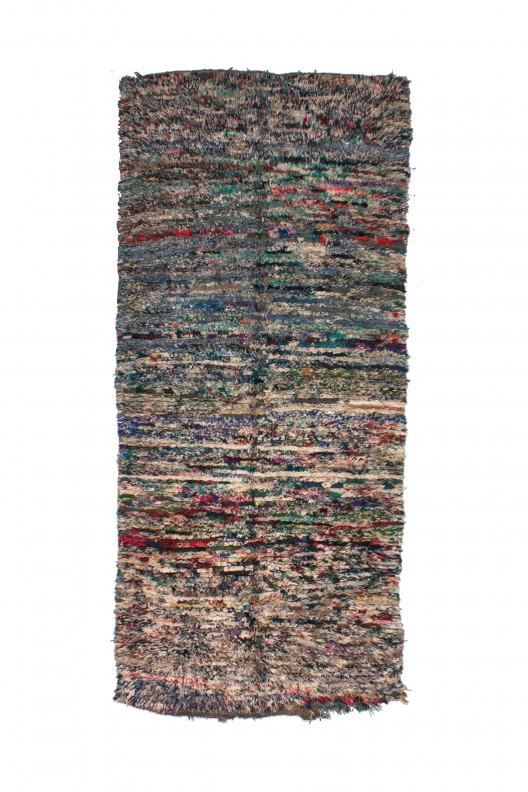 Tappeto Berbero Boucherouite - 270x120  cm - 106.3X47.2 in