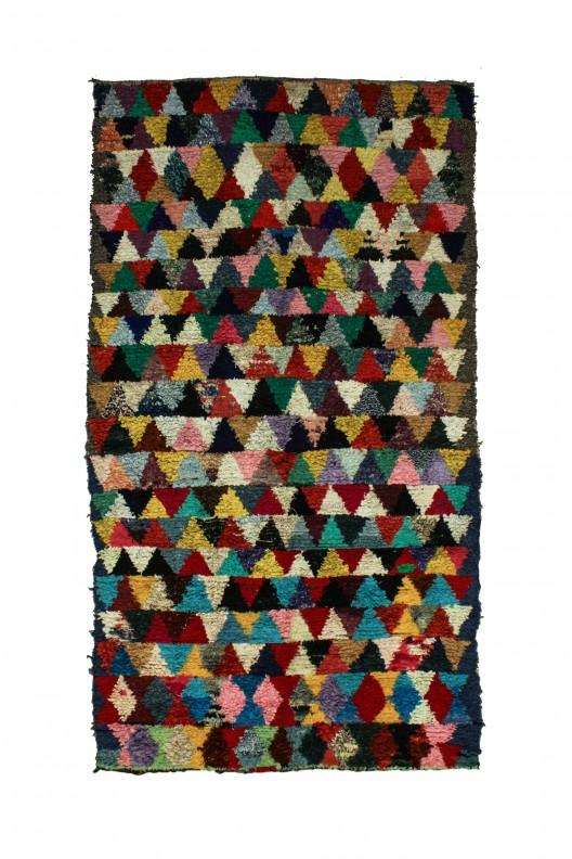 Tappeto Berbero Boucherouite -  320x175 cm - 126X68.9 in