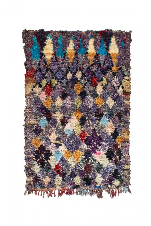Tappeto Berbero Boucherouite - 200x120 cm - 78.7X47.2 in