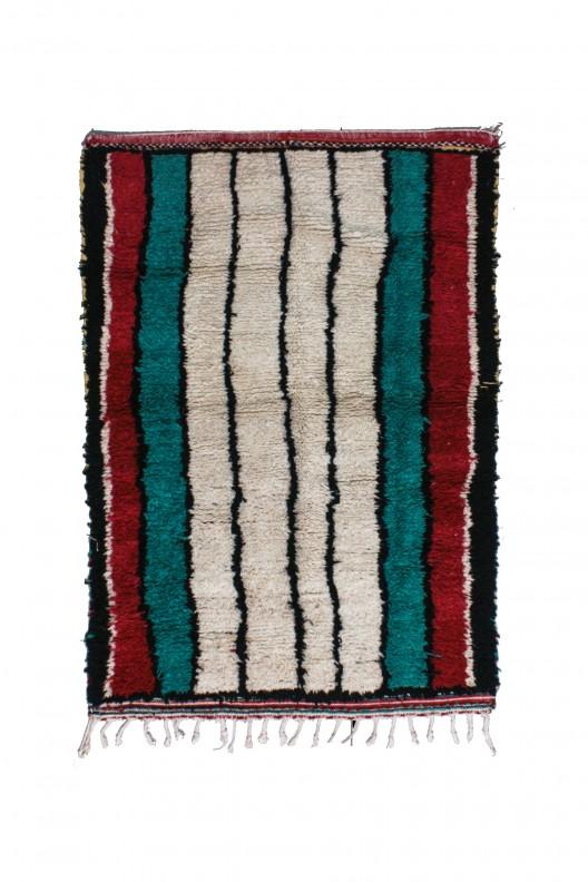 Tappeto Berbero Azilal - 185x125 cm - 72.8X49.2 in