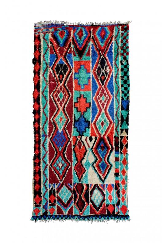 Tappeto Berbero Azilal - 330X160 cm - 129.9X63 in