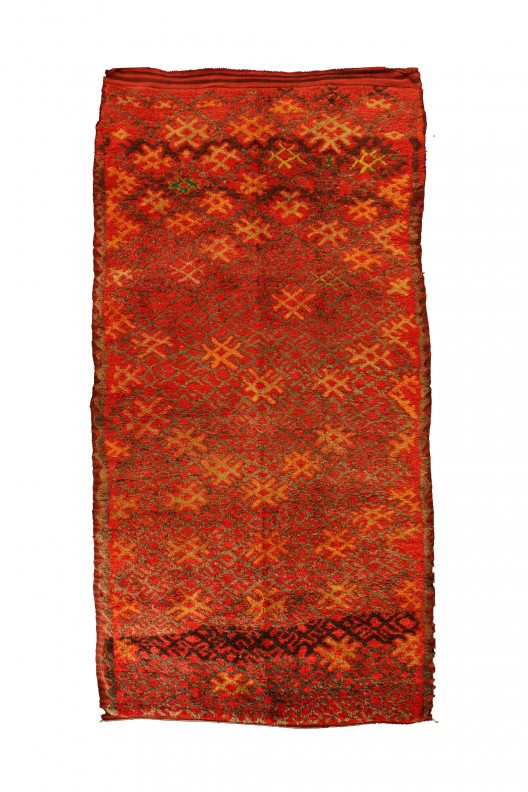 Tappeto Berber Talsent - 415X190 cm  - 163.4X74.8 in