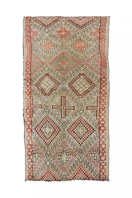 Berber Carpet Beni Ourain 420X192 Cm 165 4X75 6 In