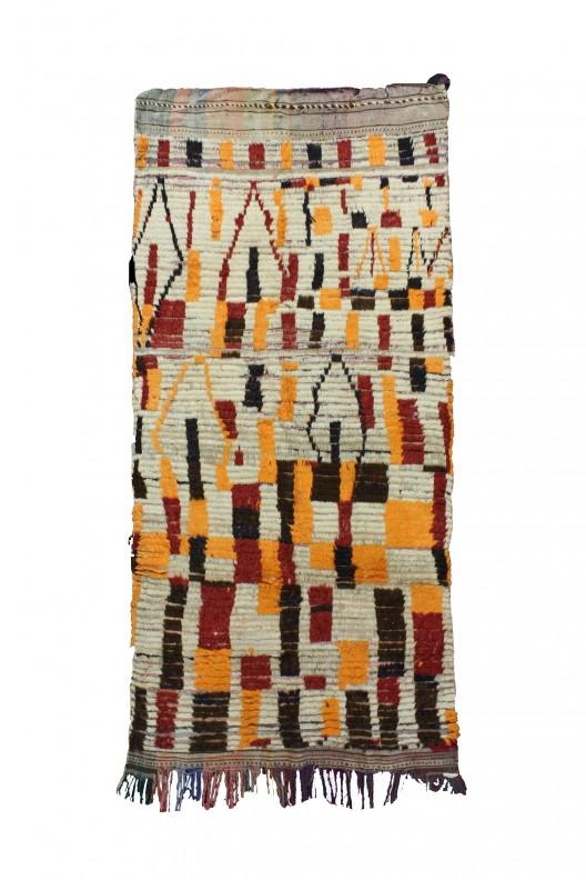 Tappeto Berbero Azilal - 235X146 cm - 92.5X57.5 in