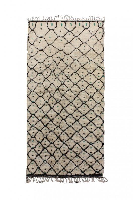 Tappeto Berbero Azilal - 321X132 cm - 126.4X52 in