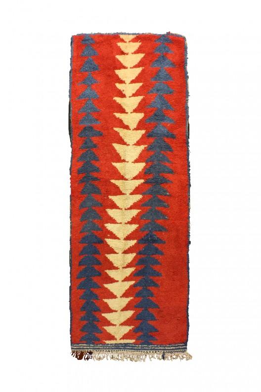 Tappeto Berbero Azilal - 314X112 cm - 123.6X44.1 in