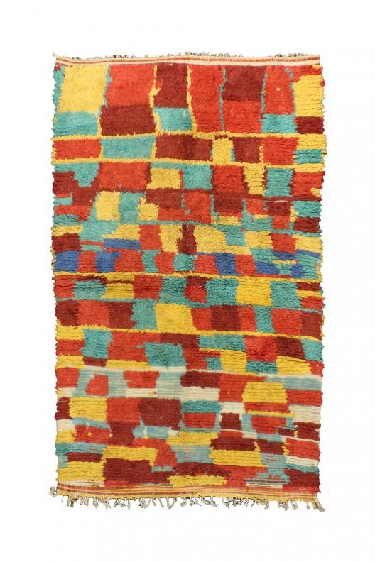 Tappeto Berbero Azilal - 241X140 cm - 94.9X55.1 in