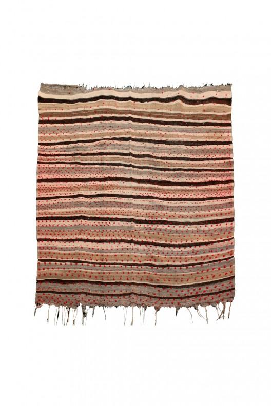 Kilim Berbero Haik - 143X130 cm - 56.3X51.2 in