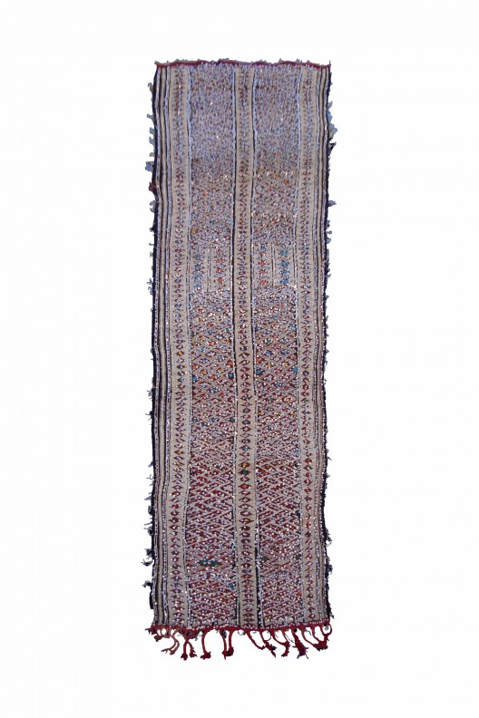 Kilim Berbero Zemmor - 383X100 cm - 150.8X39.4 in