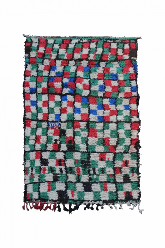 Tappeto Berbero Boujad - 263X139 cm - 103.5X54.7 in