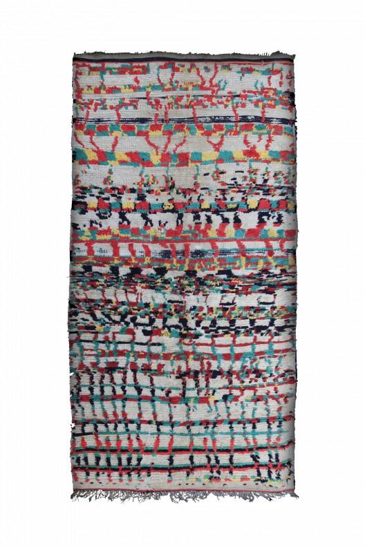 Tappeto Berbero Boujad - 300X135 cm - 118.1X53.1 in