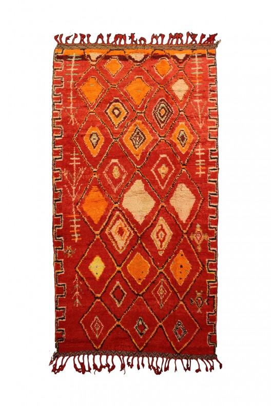 Tappeto Berbero Azilal - 330x150 cm - 129.9X59.1 in