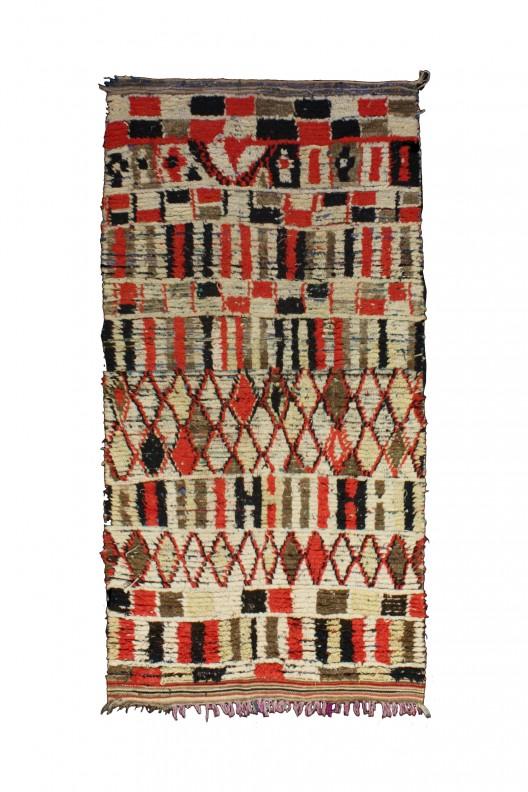 Tappeto Berbero Azilal - 275x135 cm - 108.3X53.1 in