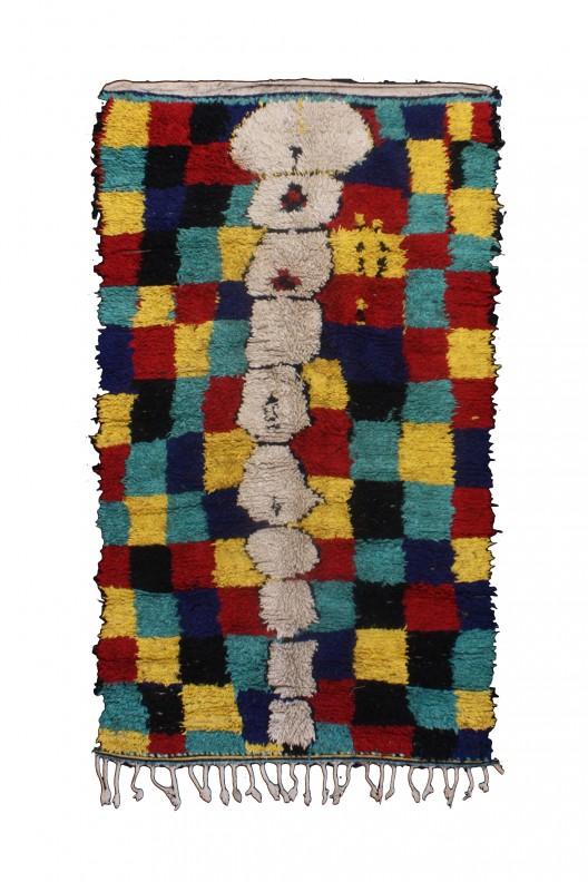 Tappeto Berbero Azilal - 220X130 CM - 86.6X51.2 in
