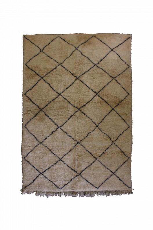 Tappeto Berbero Beni Ourain - 330x220 cm - 129.9X86.6 in