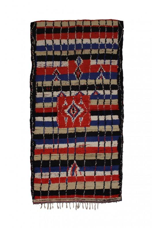 Tappeto Berbero Azilal - 270X140 cm - 106.3X55.1 in