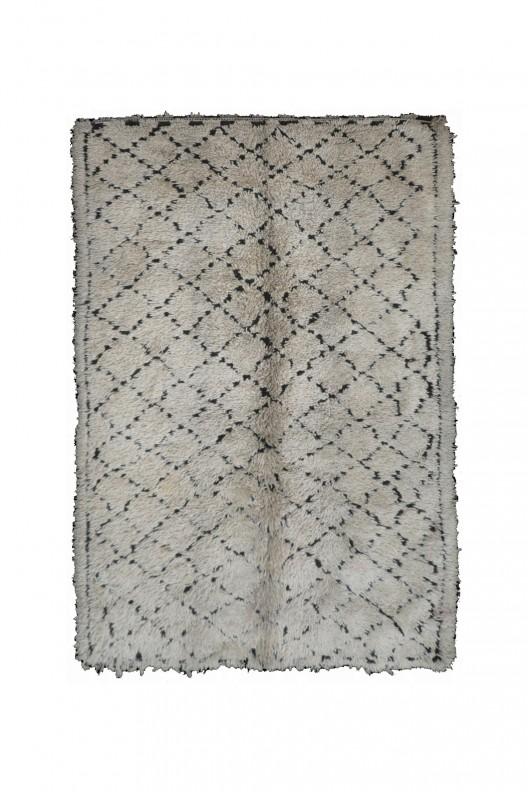 Tappeto Berbero Beni Ourain - 325X188 cm - 128X74 in