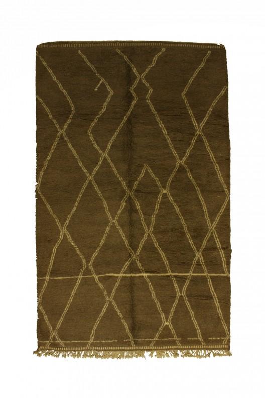 Tappeto Berbero Beni Ourain - 355x210 cm - 139.8X82.7 in