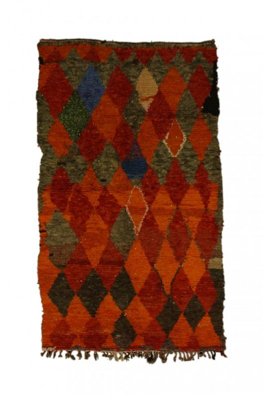 Tappeto Berbero Azilal - 285x140 cm - 112.2X55.1 in