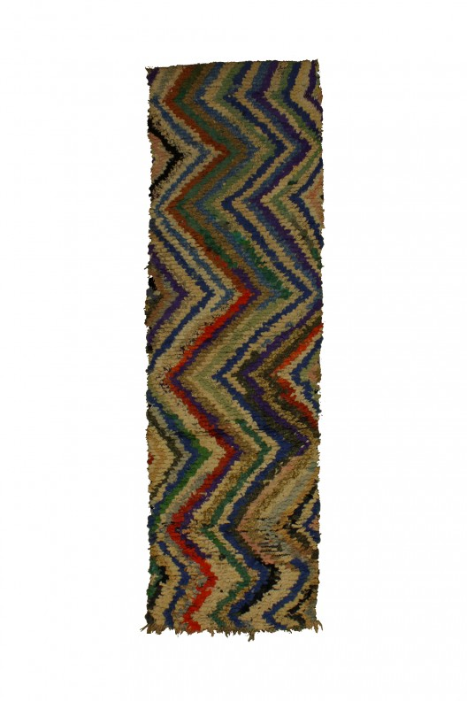 Tappeto Berbero Boucherouite - 280x80 cm - 110.2X31.5 in