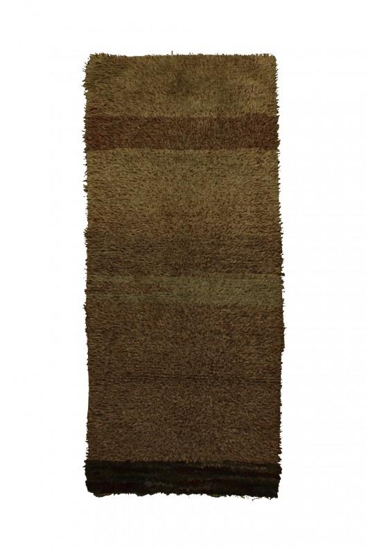 Tappeto Berbero Boucherouite - 220x95 cm - 78.7X37.4 in