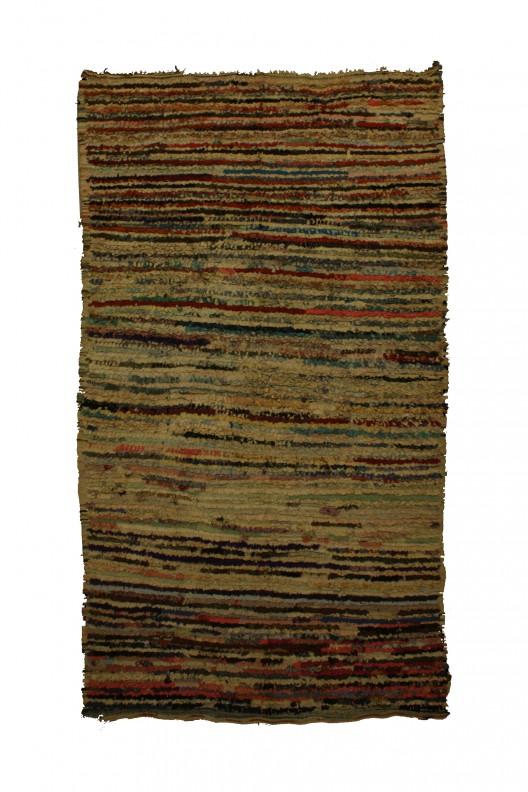 Tappeto Berbero Boucherouite - 270x145 cm - 106.3X57.1 in