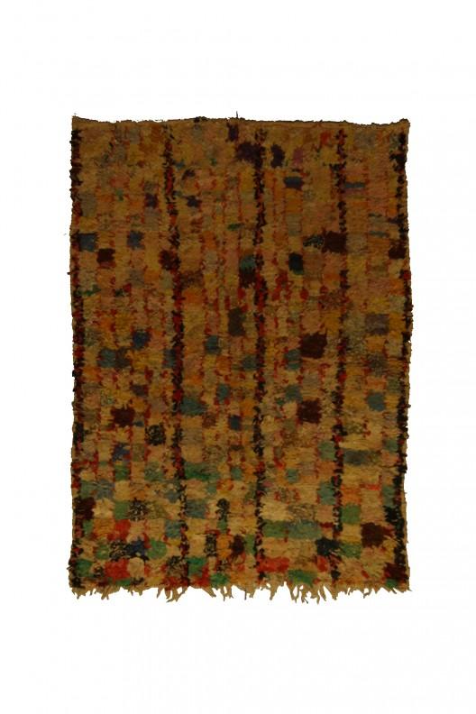 Tappeto Berbero Boucherouite - 190x130 cm - 74.8X51.2 in
