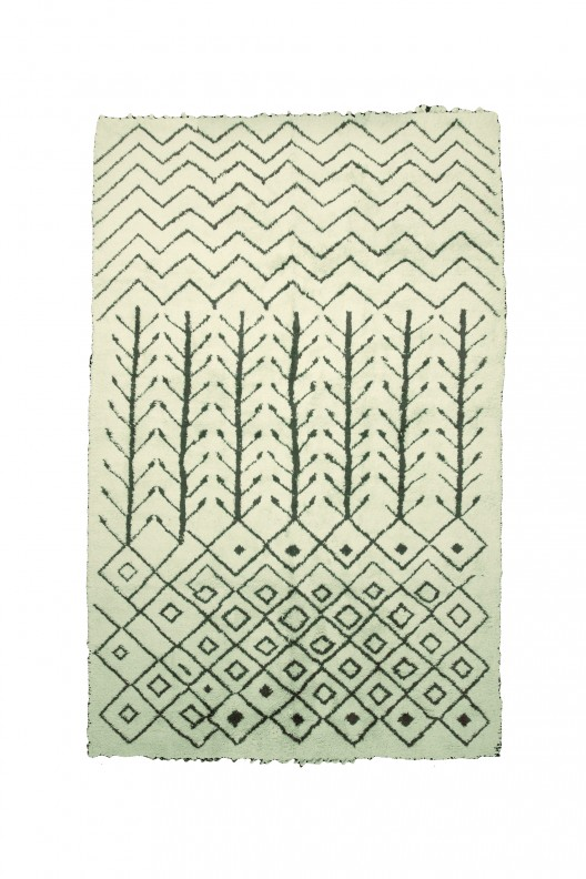 Tappeto Berbero Beni Ourain - 470X305 cm - 185X120.1 in