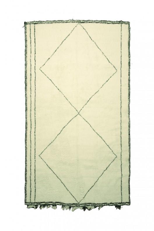 Tappeto Berbero Beni Ourain - 430X305 cm  - 169.3X120.1 in