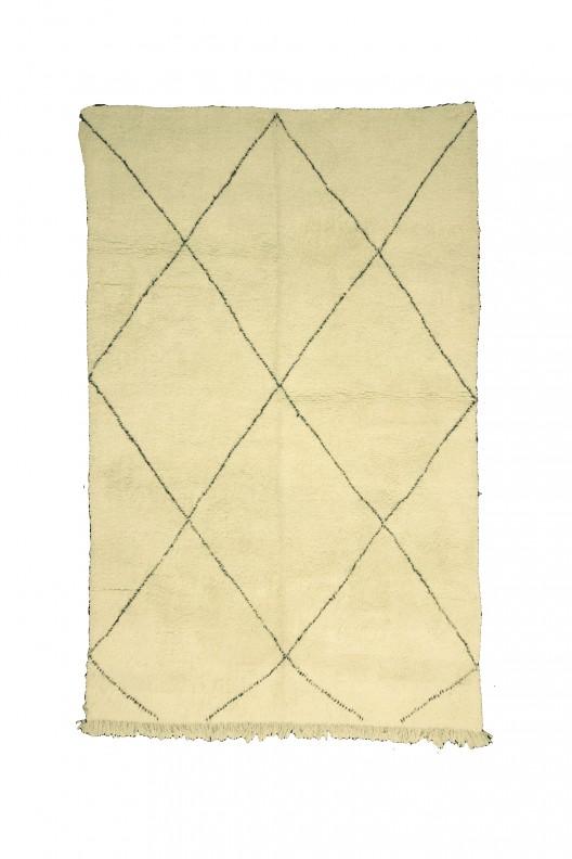 Tappeto Berbero Beni Ourain - 355X260 cm - 139.8X102.4 in