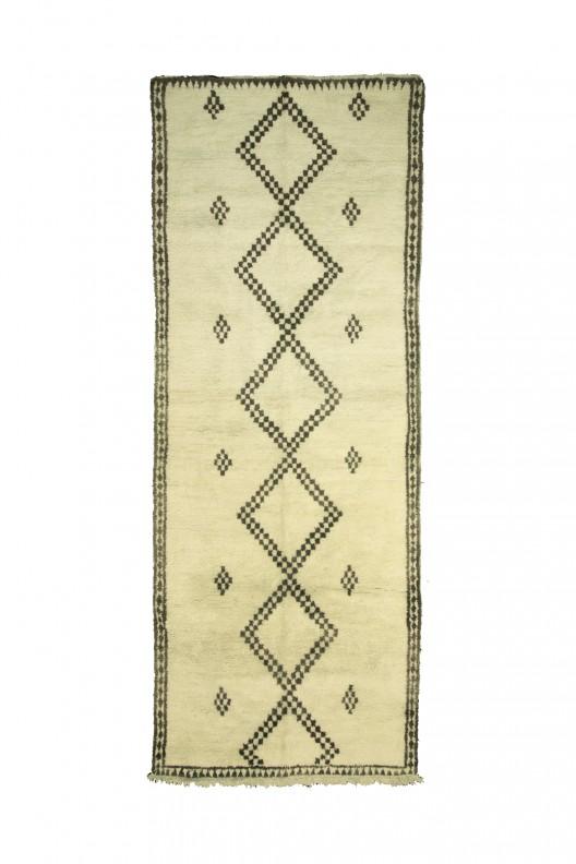 Tappeto Berbero Beni Ourain - 470X205 cm - 185X80.7 in