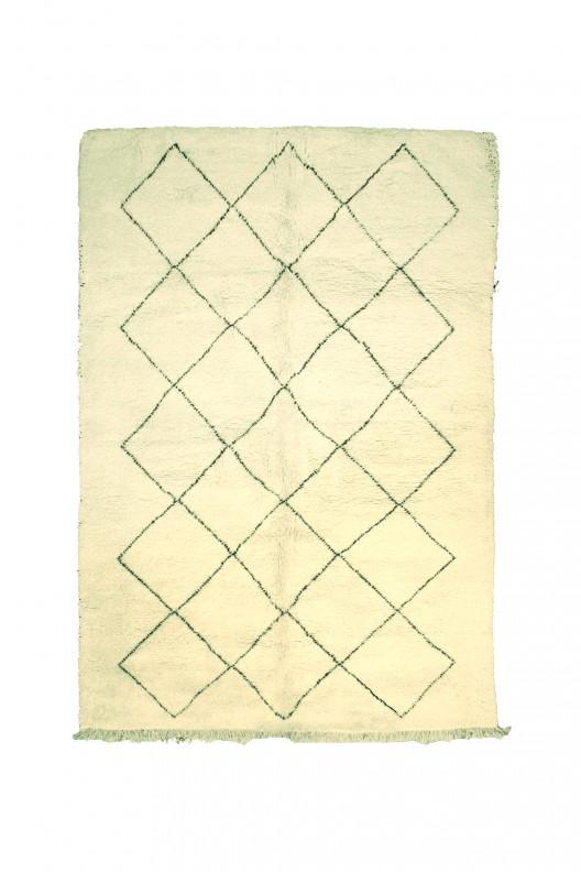 Tappeto Berbero Beni Ourain - 310X225 cm - 122X88.6 in