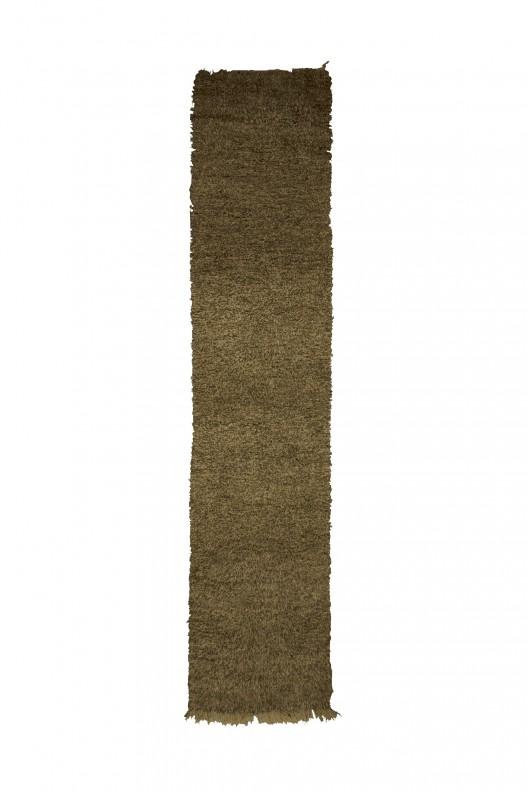 Tappeto Berbero Beni Ourain - 410X100 cm - 161.4X39.4 in