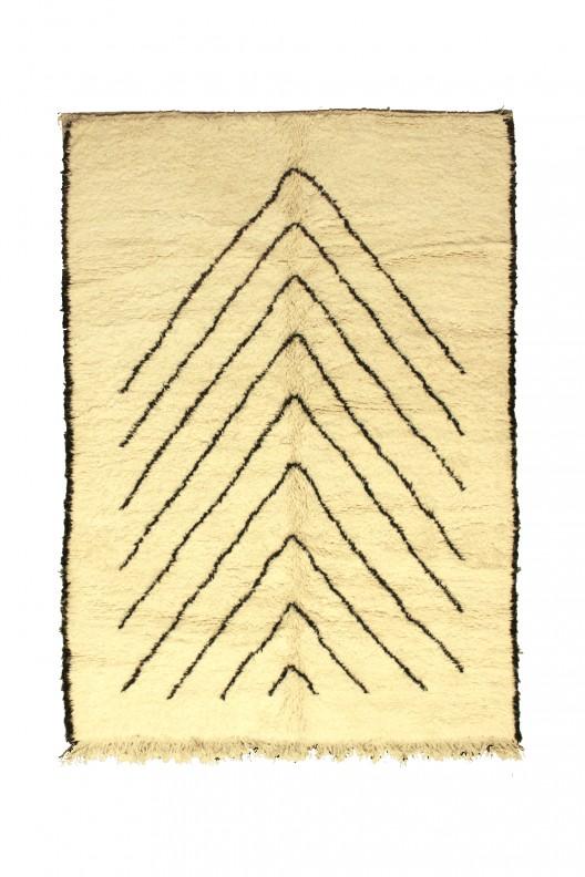 VENDUTO - Tappeto Berbero Beni Ourain - 272x215 cm - 107.1X84.6 in