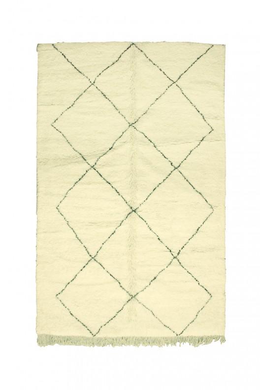 Tappeto Berbero Beni Ourain - 330x220 cm - 118.1X86.6 in