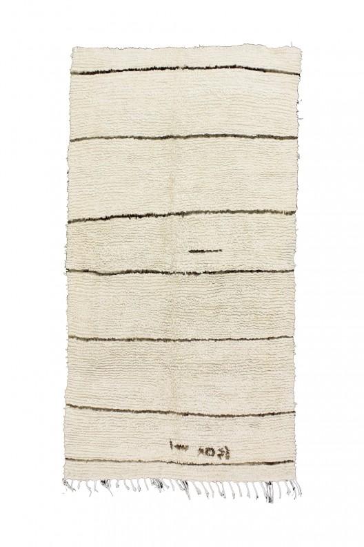 Tappeto Berbero Beni Ourain - 288X177 cm - 113.4X69.7 in