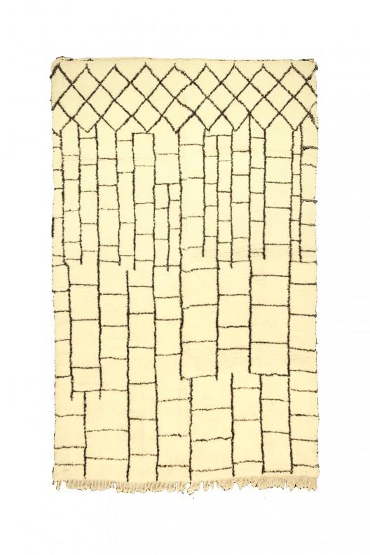 Tappeto Berbero Beni Ourain - 415X265 cm - 163.4X120.1 in